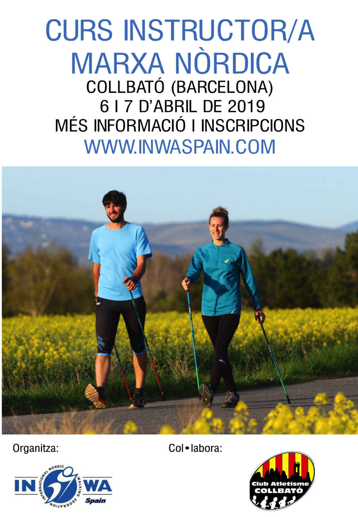 CURS D'INSTRUCTOR/A INWA A COLLBATÓ (BARCELONA) – ABRIL 2019