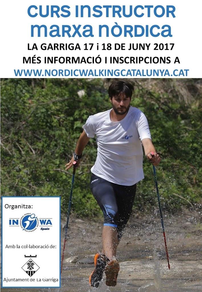 Nou curs d'instructor/a de Marxa Nòrdica INWA